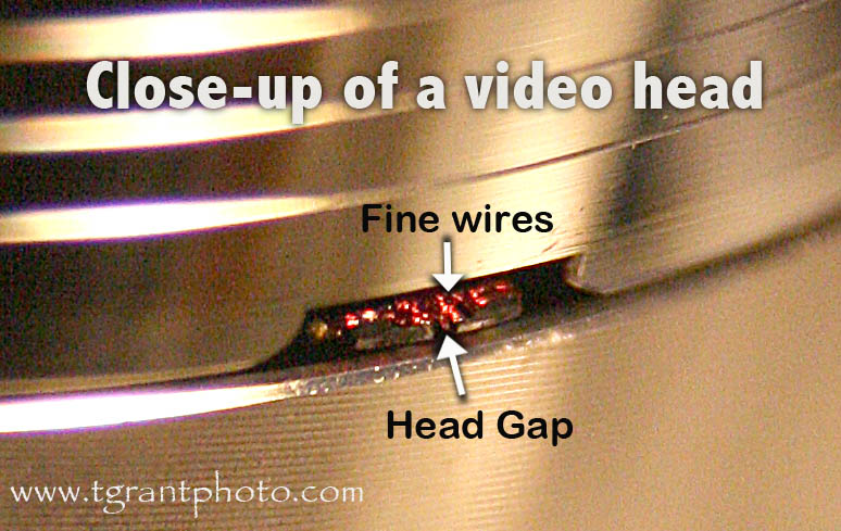 how to clean vcr heads