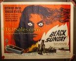 """Black Sunday - 1961  22"""" x 28"""" - Mario Bava original movie poster"""