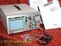 Ramsey 2200 dual trace 20mHz Oscilloscope - w. instructions & 2 probes (rebranded Tenma 72-720)