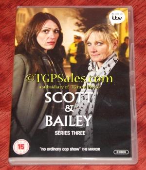 Scott & Bailey Series 3 - PAL Region 2 - DVD - UPC 5014138608217