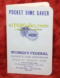 Women's Federal Pocket Dime Saver - Vintage early 60's [tgpv2]