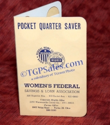 Women's Federal Pocket Quarter Saver - Vintage early 60's