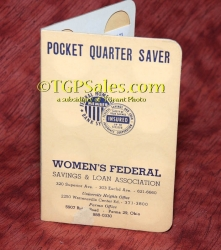 Women's Federal Pocket Quarter Saver - Vintage early 60's [tgp v2]