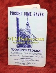 Women's Federal Pocket Dime Saver - Vintage early 60's [tgp v3]