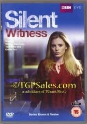 Silent Witness Series 11 & 12 - PAL Region 2 - DVD set - UPC 5051561034206