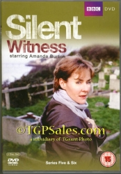 Silent Witness Series 5 & 6 - PAL Region 2 - DVD set - UPC 5051561031618
