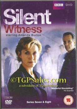 Silent Witness Series 7 & 8 - PAL Region 2 - DVD set - UPC 5051561032486