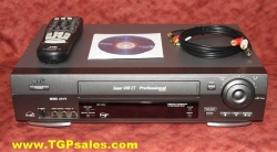 SOLD - JVC SR-V10U Super VHS Professional VCR, with built-in TBC,includes remote control [tgp0853]