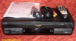 JVC Super VHS ET Plug & Play, w/ JVC Remote Control, HR-S5901U Hi-Fi with video stabilizer [TGP174]