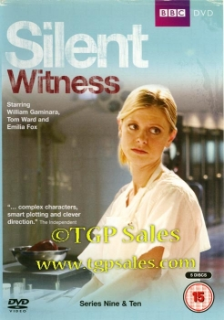 Silent Witness Series 9 & 10 - PAL Region 2 - DVD set - UPC 5051561033322