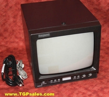 Ikegami B/W Video Monitor w. pulse cross circuit