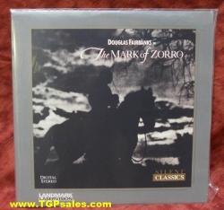 Mark of Zorro (silent)  (collectible Laserdisc)