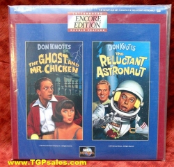 Don Knotts - Ghost Mr. Chicken + Reluctant Astronaut (collectible Laserdisc)