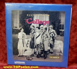 Buster Keaton - College (silent) (collectible Laserdisc)
