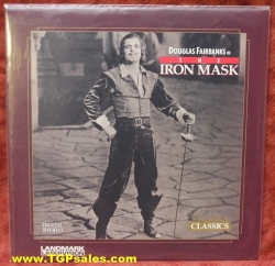 The Iron Mask - Douglas Fairbanks (silent) (collectible Laserdisc)