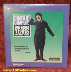 Chaplin the Early Years Volume 4 (silent) (collectible Laserdisc)