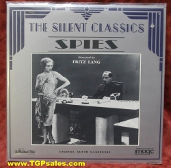 Fritz Lang's Spies (silent) (collectible Laserdisc)