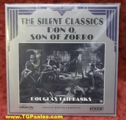 Don Q Son of Zorro - Douglas Farbanks (silent) (collectible Laserdisc)