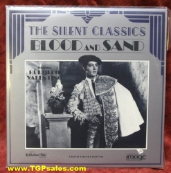 Blood and Sand - Rudolph Valentino (silent) (collectible Laserdisc)