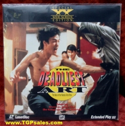 The Deadliest Art - the Best of the Martial Arts Films (collectible Laserdisc)