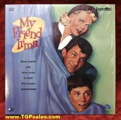 My Friend Irma - Jerry Lewis, Dean Martin (collectible Laserdisc)