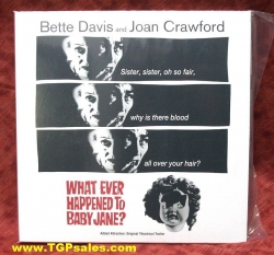 What Ever Happened to Baby Jane - Bette Davis (collectible Laserdisc)