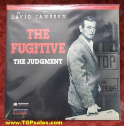 The Fugitive - David Janssen - The Judgement (collectible Laserdisc)