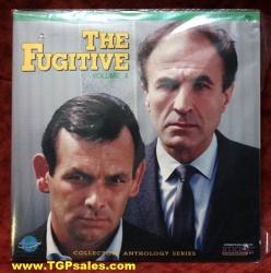The Fugitive - David Janssen - Vol. 4 (collectible Laserdisc)