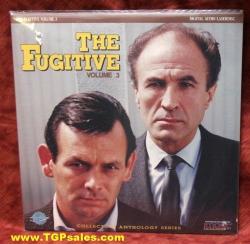 The Fugitive - David Janssen - Vol. 3 (collectible Laserdisc)