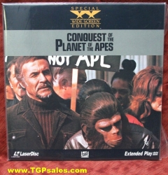 Conquest of the Planet of the Apes (collectible Laserdisc)