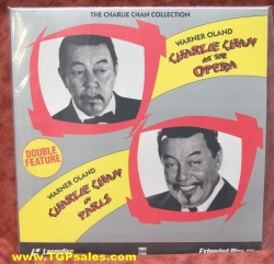 Charlie Chan at the Opera + Charlie Chan in Paris (collectible Laserdisc)