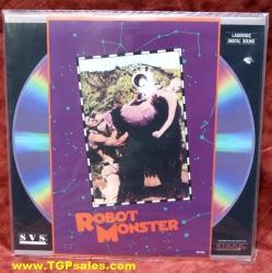 Robot Monster - sci-fi (1953) (collectible Laserdisc)