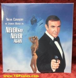 Never Say Never - James Bond 007 (collectible Laserdisc)