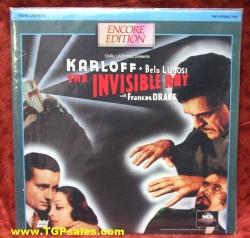 The Invisible Ray - Karloff & Lugosi (collectible Laserdisc)