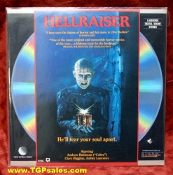 Hellraiser - horror (collectible Laserdisc)