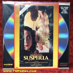 Suspiria - Collector's Letterbox edition - d: Dario Argento - horror (collectible Laserdisc)