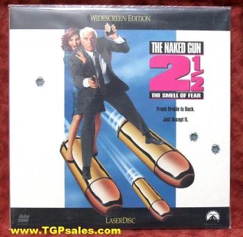 Naked Gun 2 1/2 Smell of Fear - comedy (collectible Laserdisc)