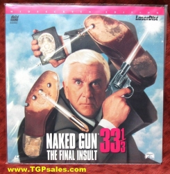 Naked Gun 33 1/3 the Final Insult - comedy (collectible Laserdisc)