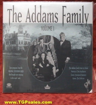 The Addams Family - TV series - Vol. 1 (collectible Laserdisc)