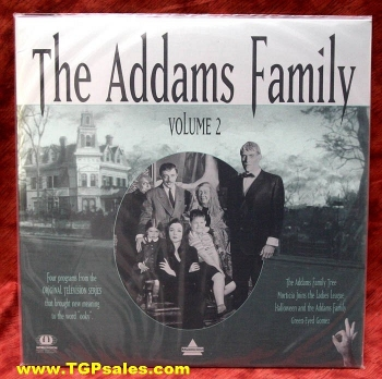 The Addams Family - TV series - Vol. 2 (collectible Laserdisc)