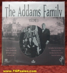 The Addams Family - TV series - Vol. 3 (collectible Laserdisc)