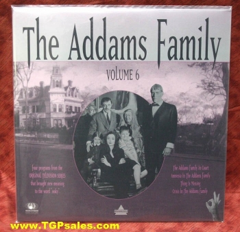 The Addams Family - TV series - Vol. 6 (collectible Laserdisc)