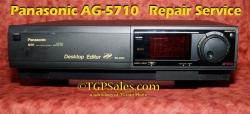 Panasonic AG-5710 - Repair Service