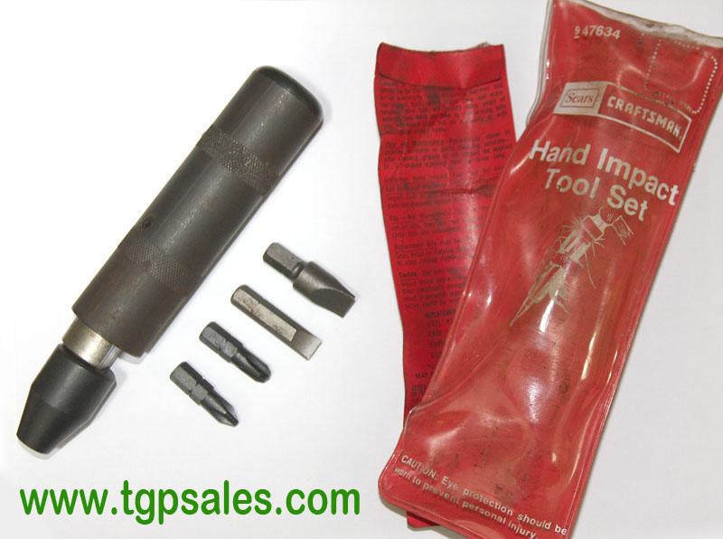 Craftsman Hand Impact Tool Set 947634 Used Tgp Sales