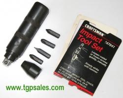 Craftsman Hand Impact Tool Set 947641 - used