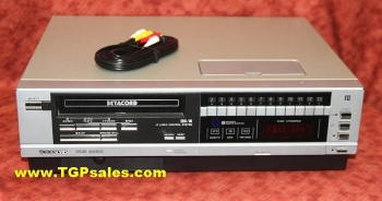 Sanyo Betacord Beta VCR 4900