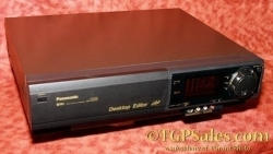 Panasonic AG-1980 sVHS VCR w. built-in Time Base Corrector + remote. Refurbished + Warranty [TGP555]