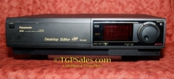 Panasonic AG-5710 sVHS player - recorder w Time Base Corrector Professional VCR - tested, ready to use! [TGP555]