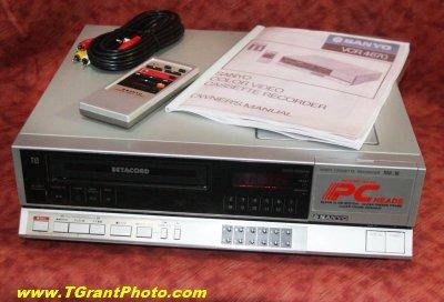 Sanyo Betacord Beta VCR 4670 [TGP913]