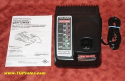 Craftsman 315.CH2030 Li-Ion & NiCd charger for C3 batteries